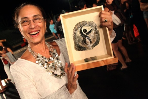 Tumata at the 2014 HEIVA where Tahiti Ora won first prize