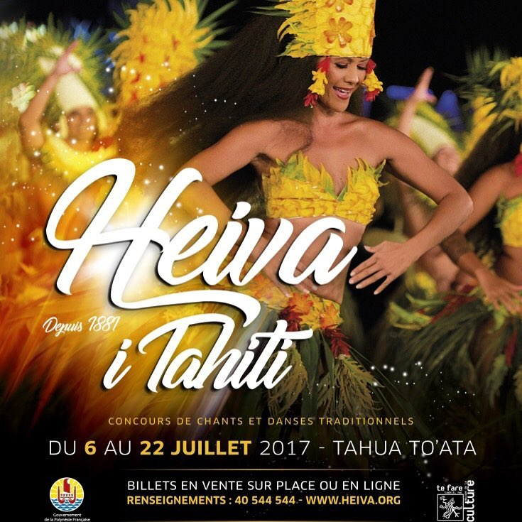 The Heiva i Tahiti has started !